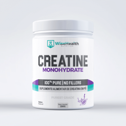 CREATINA 100% PURA WISE HEALTH