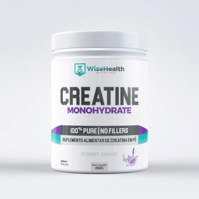CREATINA 100% PURA WISE HEALTH