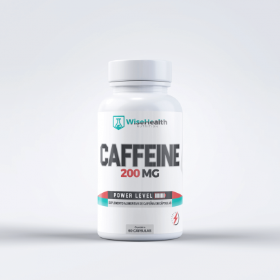 Cafeina 200mg Wise Health
