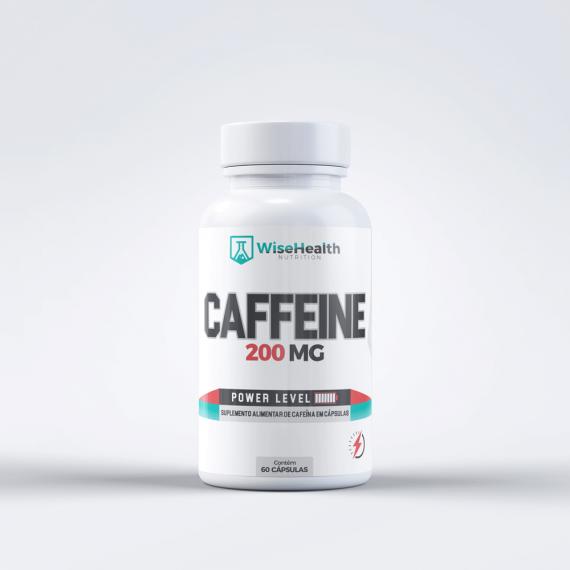 Cafeina 200mg Wise Health