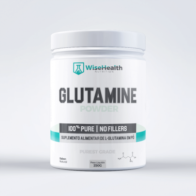 Glutamina em Pó Wise Health