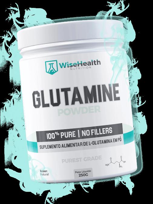 Glutamina Wise 100% Pura