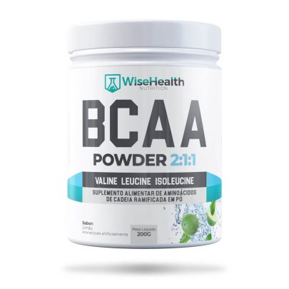 BCAA EM PÓ WISE HEALTH