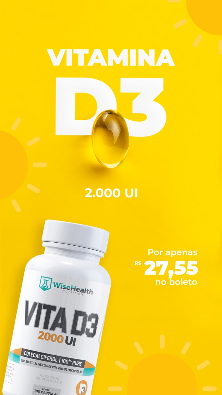 Vitamina D3 WiseHealth