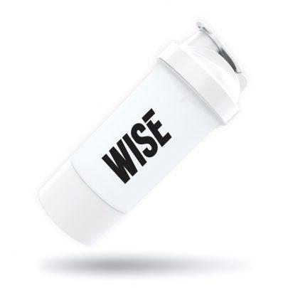 Coqueteleira 2 doses Branca WISE